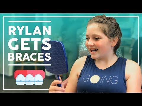 GETTING BRACES ON?!? How Will RYLAN React? | Behind the Braids Family Vlog Ep.42