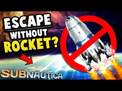 Subnautica - NO MORE NEPTUNE ROCKET?! We Can Use This! - The Better Spaceship! - Subnautica Gameplay