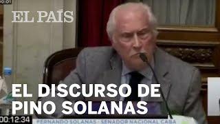 ARGENTINA | El discurso viral del Senador PINO SOLANAS a favor del ABORTO