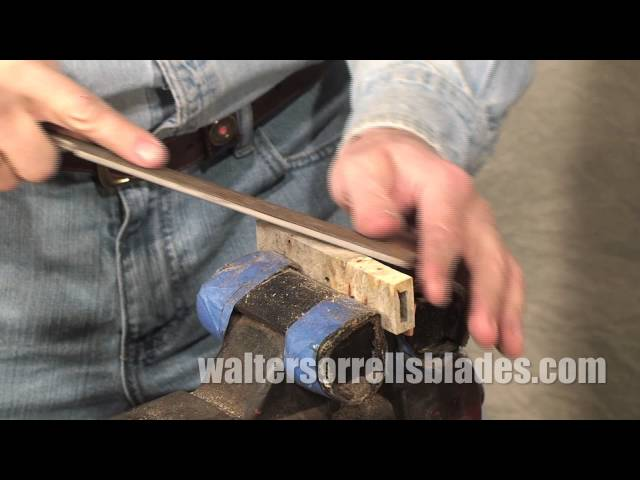 Knife Making Tools Part 12: Bench Vise