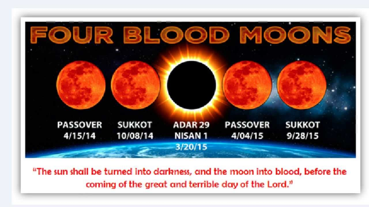 show picture of the 4 blood moons 2017 - photo #10