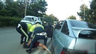 В Волгоградской области пьяная компания устроила погоню с ГИБДД с ребенком в машине