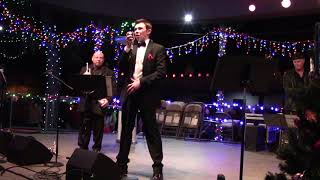 """Lighting Of The Trees Ceremony - The Max Pack   Max Manzanares """"Let It Snow"""""""