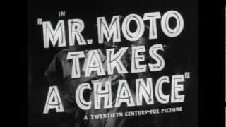 Mr Moto Takes A Chance Trailer