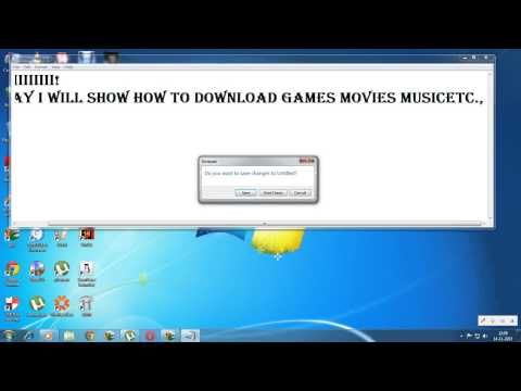 how to download games,music,etc., with torrent