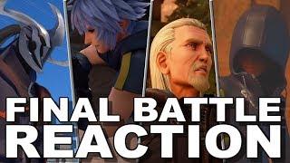Kingdom Hearts III Final Battle Trailer Reaction