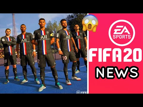 Fifa 20 Updates Psg 4th Kit New Faces Added New Things Added Coming Soon Youtube