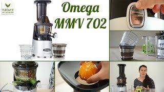 Extracteur de jus Omega MMV 702 - Présentation et démonstration
