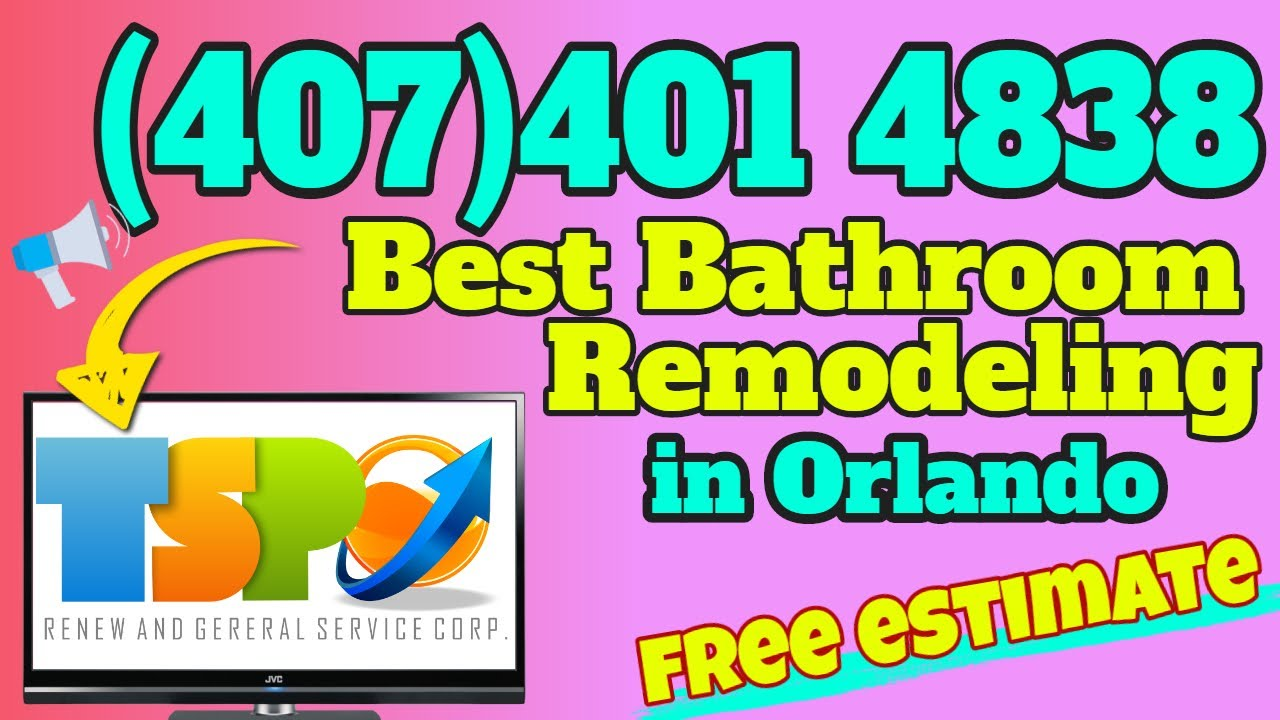 Best Bathroom Remodeling Orlando FL - Find Here The Best ...