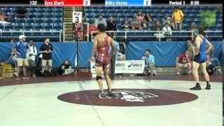 132 Ezra Clark vs. Mike Hayes