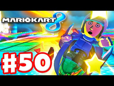 Mario kart 8 gameplay part 51 50cc crossing cup and for Mirror gameplay walkthrough