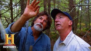 The Curse of Oak Island: REAL TREASURE FOUND at Lot 8 (Season 5) | History