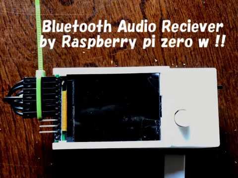 Bluetooth Audio Player/Reciever by Raspberry pi zero W