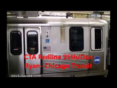 CTA Redline, [95th/ Dan Ryan] Grand Station, to Lake Station, Chicago Transit Authority,