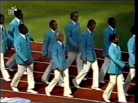 Munich Summer Olympic Games 1972. Opening Ceremony Part 1