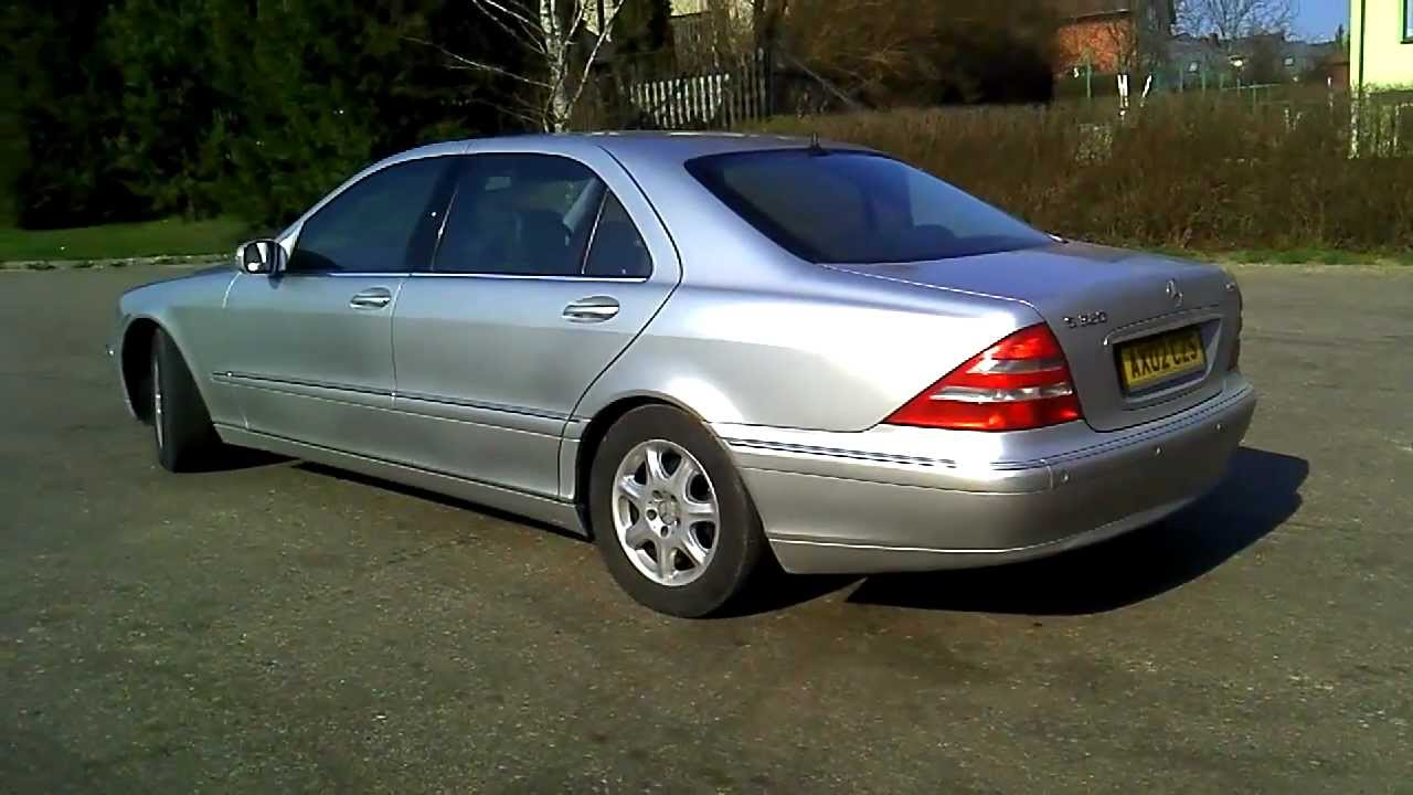 mercedes benz s class 2012 review lwb exhaust sound and acceleration w220 youtube. Black Bedroom Furniture Sets. Home Design Ideas