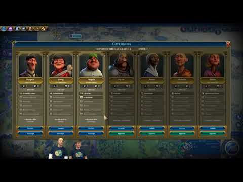 Civilization VI News - Rise and Fall, Government Districts, Governors, and the Timeline!