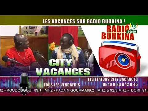 Spot City vacances sur Radio Burkina