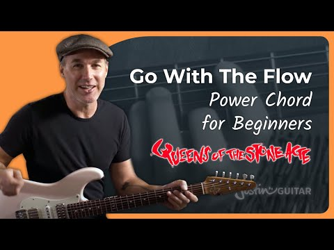 Queens Of The Stone Age Go With The Flow Guitar Lesson JustinGuitar Tutorial Power Chords