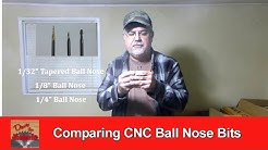 Comparing CNC Ball Nose Bits