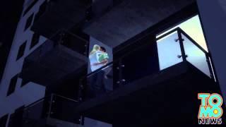 Пара молодых людей упала с балкона во время секса
