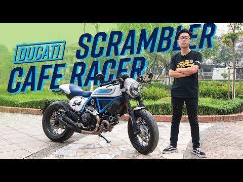 Lái thử Ducati Scrambler Cafe Racer 2019 chính hãng đầu tiên tại Việt Nam