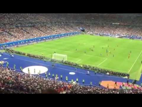 Euro 2016 Final France and Portugal (Inside the stadium)