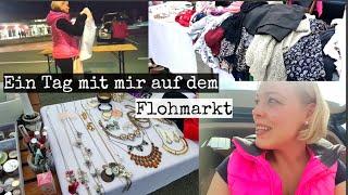 Shoppen auf dem Flohmarkt mit Koffer 👌😄 I Mein Verkaufsstand & Fazit 🤗