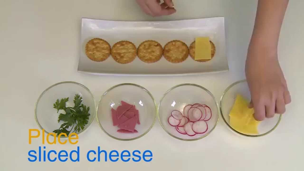 How to make salt cracker canap s quick recipe youtube for How to make canape