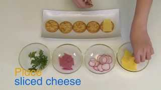 How to Make Salt Cracker Canapés - Quick recipe