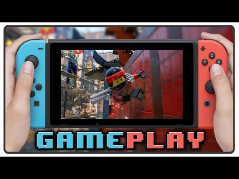 The LEGO Ninjago Movie Video Game | First HOUR of Gameplay | Nintendo Switch