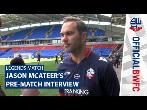 LEGENDS MATCH | Jason McAteer's pre-match interview