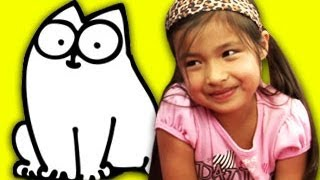KIDS REACT TO SIMON'S CAT