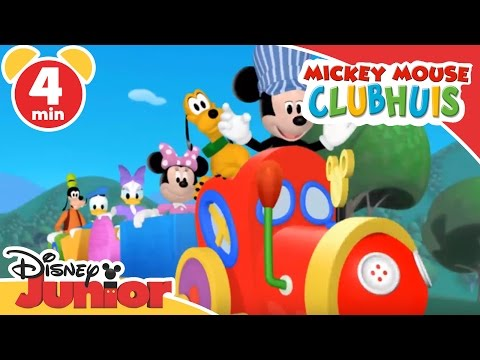 Thumbnail: Mickey Mouse Clubhuis | In de trein | Disney Junior NL