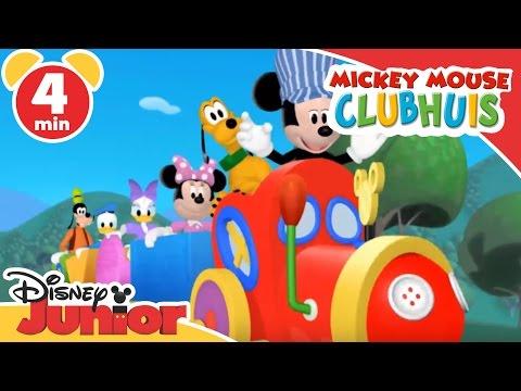 Mickey Mouse Clubhuis | In de trein | Disney Junior NL