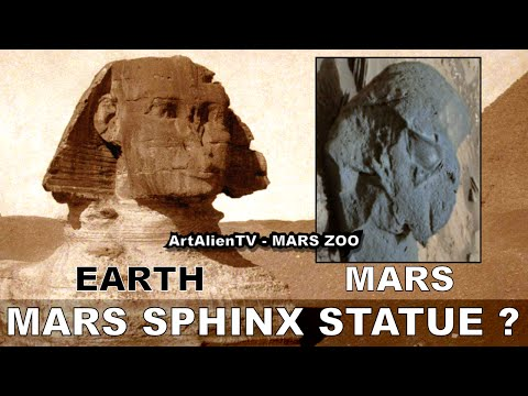 #MARS SPHINX STATUE ? Ancient Alien Artifacts. Valley of the Kings. ArtAlienTV - 720p60