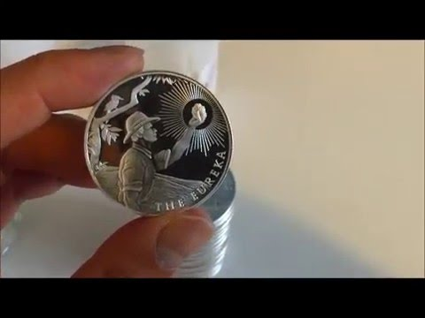 Buy silver coin or round? Review of Eureka Silver Round