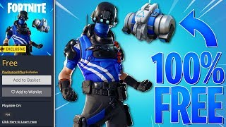 FREE PlayStation SKIN in Fortnite Battle Royale! (Free Fortnite Skin)