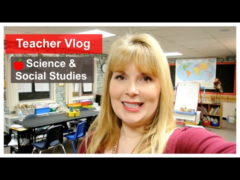 Teacher Vlog~Science & Social Studies