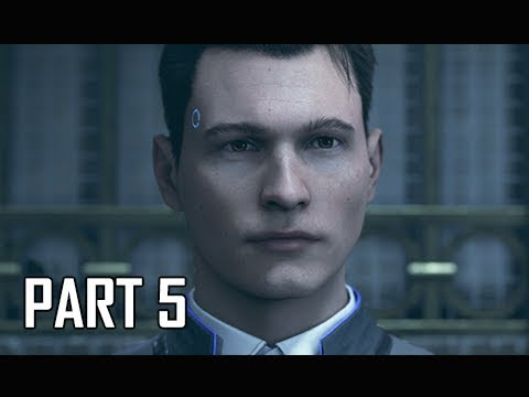 DETROIT BECOME HUMAN Gameplay Walkthrough Part 5  The Chase PS4 Pro 4K Let's Play