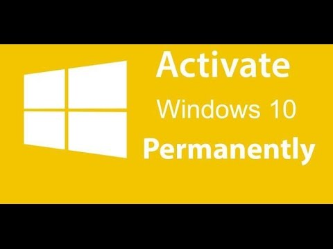 How To Activate Windows 10 Pro/Enterprise/Home Permanently (Step by Step) 2017