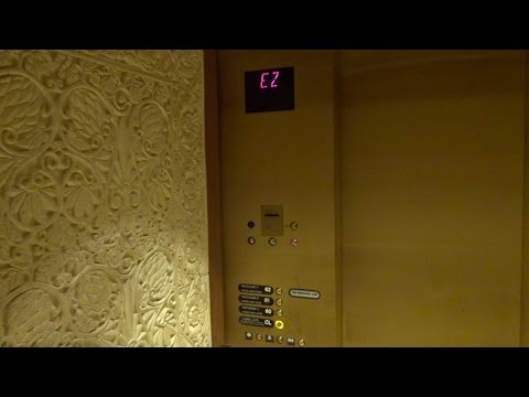 Very Slow Crystal Room Elevator - Mandalay Bay - Las Vegas, Nevada