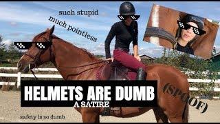 HELMETS ARE DUMB [PARODY]| internet trainer returns