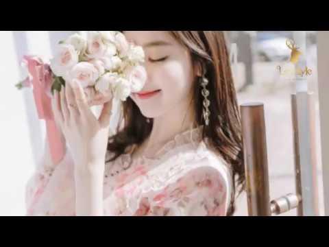 Xu hướng thời trang hè 2018 - váy đầm hoạ tiết Hàn Quốc