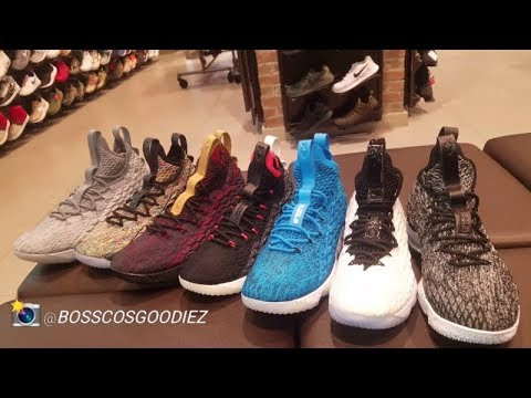 d61838887e2 LEBRON JAMES S NIKE LEBRON 15 SNEAKER REVIEW (LETS COMPARE) - YouTube