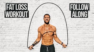 Fat Loss Jump Rope Workout (Follow Along)