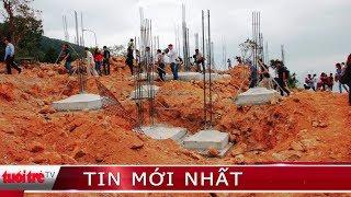 Có thông tin tiếp tục xây dựng tại công trình 40 móng biệt thự trái phép ở Sơn Trà