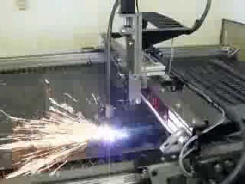 Arcpro 9600 1 8 Quot Mild Steel Cut Youtube