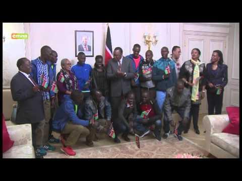 Rais Kenyatta azuru Ufaransa