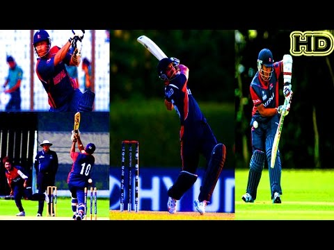 Century From Nepalese Batsman | Top 6 Century Scores | Full HD | Nepal Cricket Team |